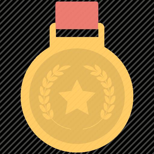 badge, medal, prize, ranking, winner icon