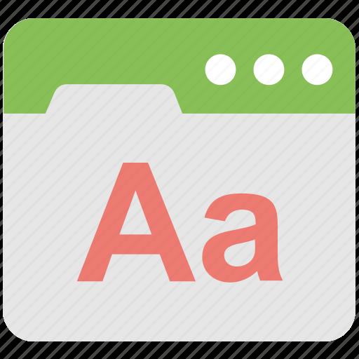 alphabet, e learning, english, font, web icon
