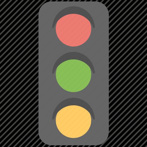 lights, semaphore, signals, traffic, traffic lights icon