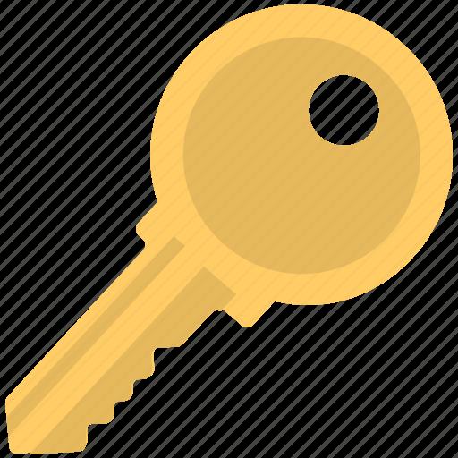 access, key, lock key, password, security icon