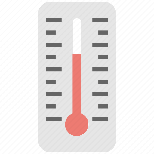 cold, hot, temperature, thermometer, weather icon