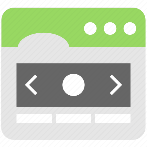 interface, layout, slider, template, web icon