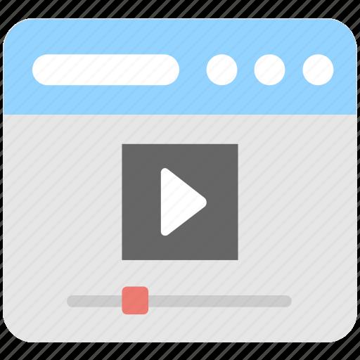 media, media player, multimedia, streaming, video icon