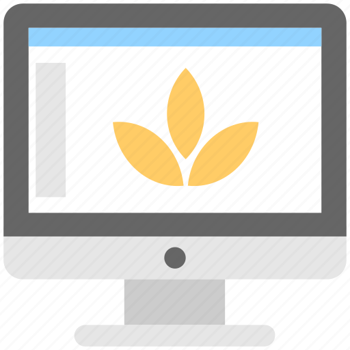 designing, graphic, illustration, monitor, screen icon