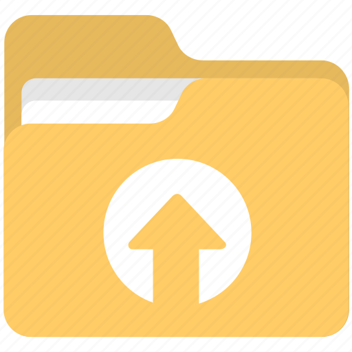 documents, file folder, files, folder, folder upload icon