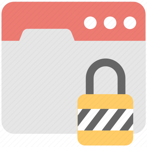cyber security, lock, protection, security, web icon