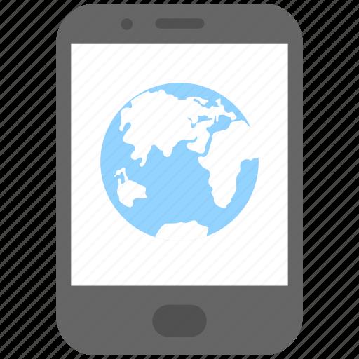 internet, mobile, mobile data, network, smartphone icon