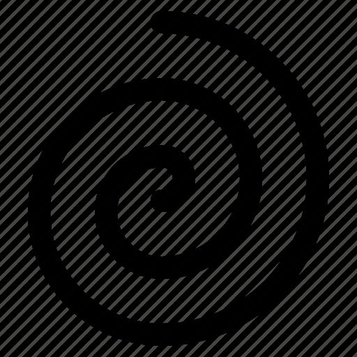 Circle, Design, Round, Spiral, Swirl Icon