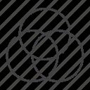 balance, circle, cmyk, color, design, graphic, rgm