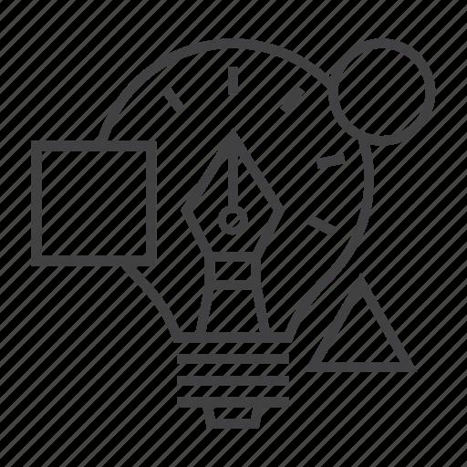 Bulb, creative, creativity, design, graphic, idea, innovation icon - Download on Iconfinder