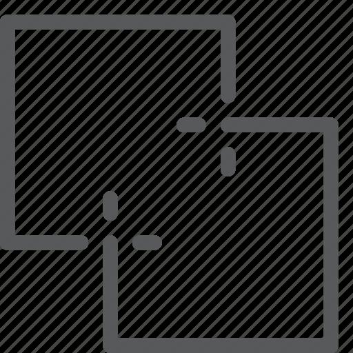 action, design, direction, merge, move, tool, unite icon