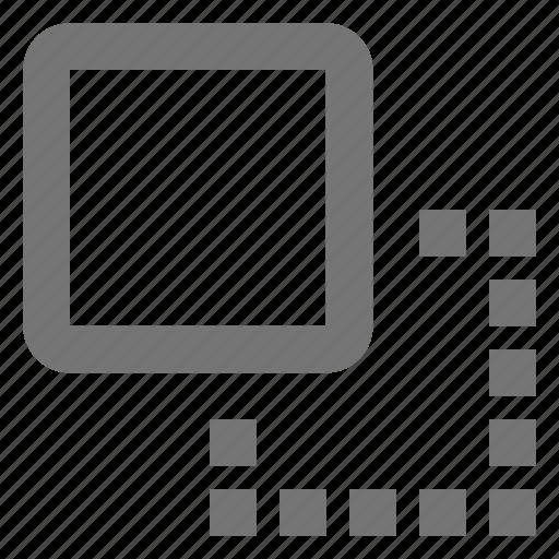 create, crop, cut, design, move, resize, tool icon
