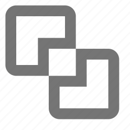 intersect, intersection icon