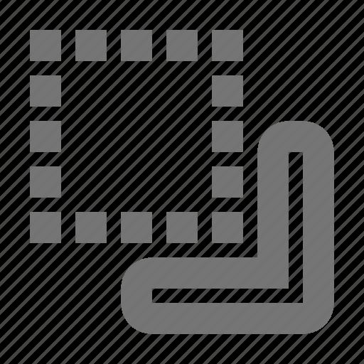 bring, create, design, down, front, minimize, minus, tool icon
