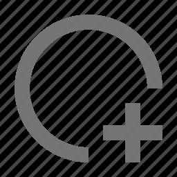add, circle, new, plus icon