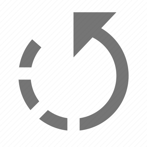arrow, back, create, design, navigation, return, tool, undo icon