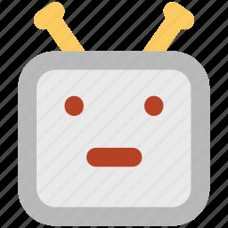 advanced technology, bionic robot, robot, robot face, robotic machine icon