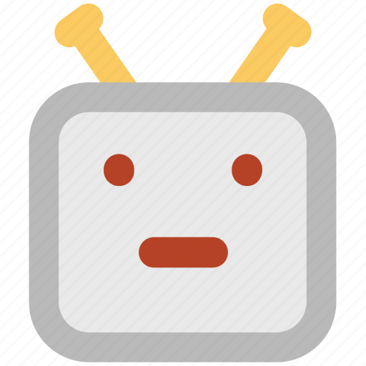 advanced technology, bionic robot, robot, robot face, robotic machine icon