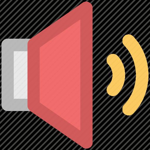 advertising, alert, announcement, audio, sound, speaker, volume icon