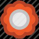 flower, geometrical element, geometrical design, logotype, stylized, design, drawing icon