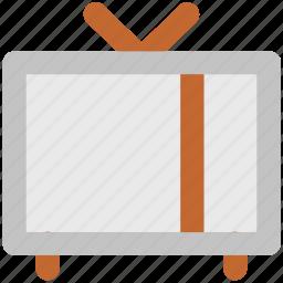 electronics, old tv, retro tv, technology, tv, tv set, vintage tv icon