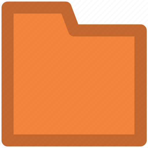 archive, computer folder, data organizing, data storage, folder, opened, storage icon