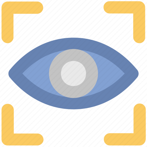 eye, focus, view, visibility, visible status, vision, watcher icon