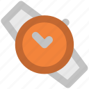 fashion, hand watch, time, timekeeper, timer, watch, wristwatch icon