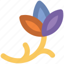 blooming, blossoming, botanic, branch, floral design, flower, twig icon
