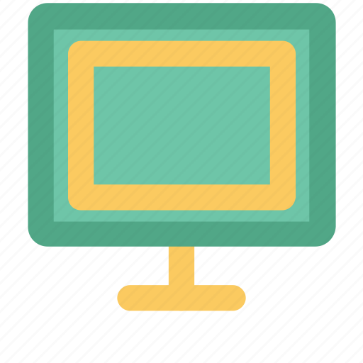 desktop, device, display, electronics, lcd, monitor, pc icon