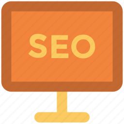 display, optimization, screen, search engine optimization, seo, seo concept, seo service icon