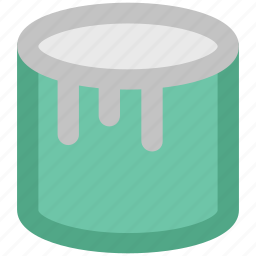 color, home decoration, liquid paint, paint, paint can, painting, renovation icon