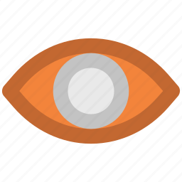 eye, human eye, onlooker, view, visibility, visible, vision, watcher icon
