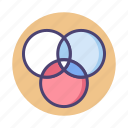 balance, color icon