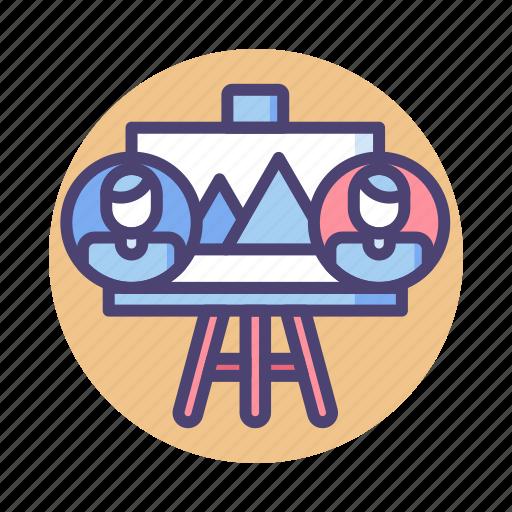 collaborative, collaborative design, design icon