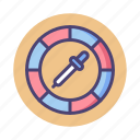 color, color picker, color wheel, picker, wheel icon
