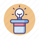 creativity, idea, ideas, inspiration icon