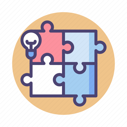 Creative, puzzle, solution icon - Download on Iconfinder