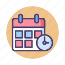 deadline, appointment, booking, calendar, schedule icon