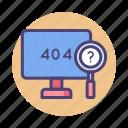 404, error, error 404, page icon