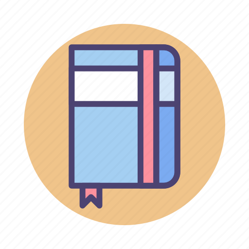 Sketchbook, diary, journal, note, notebook, planner icon - Download on Iconfinder