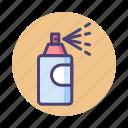 color, spray, spray can icon