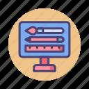 designer, software, studio, tool icon