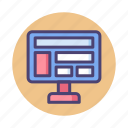 design, layout, web icon