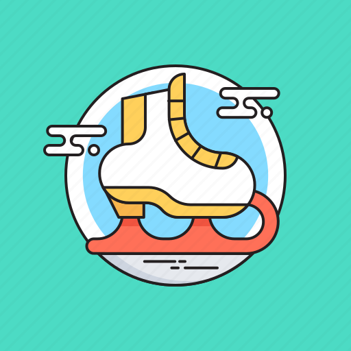Ice skates, skate boots, skating, sports, winter icon - Download on Iconfinder