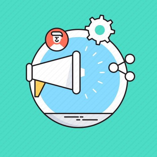 Advertising, marketing, megaphone, seo, social campaign icon - Download on Iconfinder