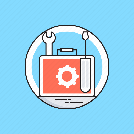 Screwdriver, spanner, support, technical service, technical support icon - Download on Iconfinder