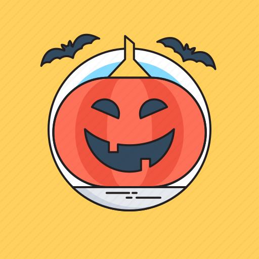 celebration, festival, happy halloween, pumpkin, spooky icon