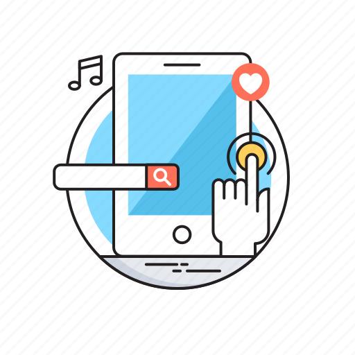 api, app development, mobile, mobile development, programing icon