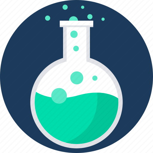 Chemistry, designing, flask, lab, science, search icon - Download on Iconfinder